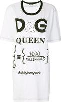 Dolce & Gabbana oversized Queen T-shirt