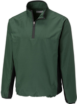 Cutter & Buck Green Follett Color Block Half-Zip Windshirt