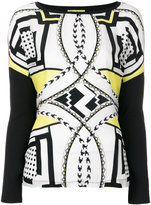 Versace printed blouse