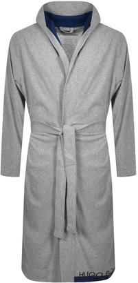Boss Business BOSS Identity Hooded Bath Robe Grey