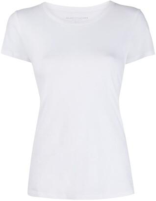 Majestic Filatures round neck slim-fit T-shirt