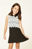 Forever 21 FOREVER 21+ Girls Lace Swing Dress (Kids)