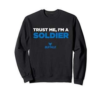 Buffalo David Bitton Bulls Trust Me - I'm A Soldier - Team Sweatshirt
