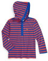 Lacoste Stripe Hooded T-Shirt (Toddler Boys, Little Boys & Big Boys)