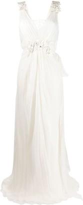 Alberta Ferretti Aurora floor-length dress