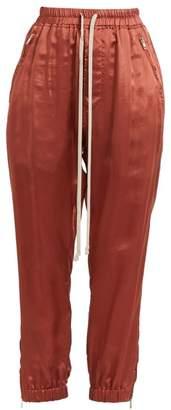 Rick Owens Zipper-Trim Track Pants