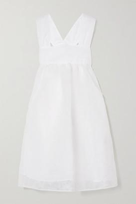 Cecilie Bahnsen Pandora Organza Dress - White