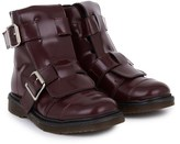 Marni Burgundy Ankle Boots