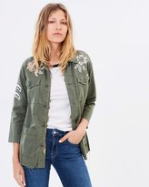 Mother The Top Brass Fray Jacket