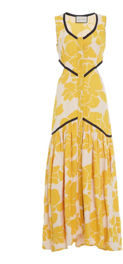 Alexis Royal Cutout Midi Dress