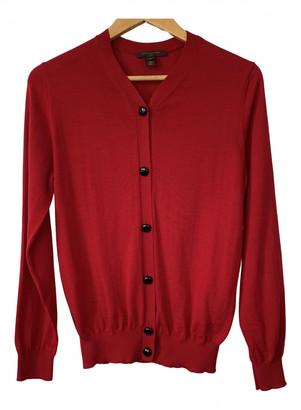Louis Vuitton Red Wool Knitwear