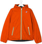 K Way Kids reversible puffer jacket