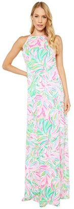 Lilly Pulitzer Margot Maxi Dress (Multi Croc My World) Women's Clothing