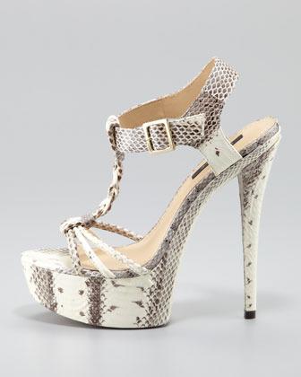 Rachel Zoe Valerie Braided Platform Sandal