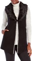 Cliche Faux Fur Collar Vest