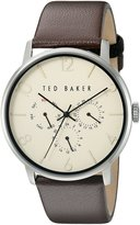 Ted Baker Men's 10023493 Classic Analog Display Japanese Quartz Brown Watch