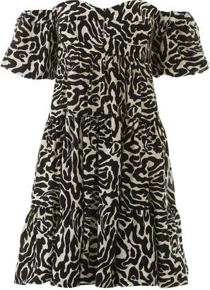 Pinko Zebra Print Mini Dress
