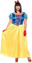 Leg Avenue Plus Size Classic Snow White