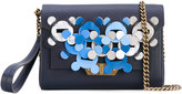Anya Hindmarch Hedra Bathurst wallet-on-chain - women - Silk/Leather - One Size