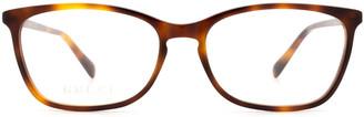 Gucci Gg0548o Havana Glasses