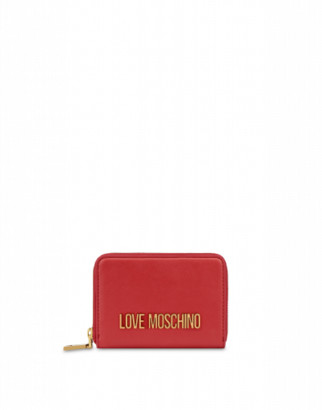 Love Moschino Wallet With Logo Woman Red Size U It - (one Size Us)