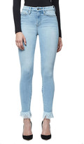 Good American Good Waist ultra-skinny ultra high-rise frayed jeans