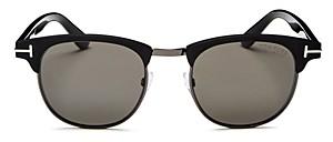 Tom Ford Men's Laurent Polarized Square Sunglasses, 51mm