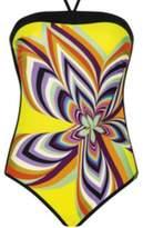 Sunflair Beach Fashion Retro Print Swimsuit