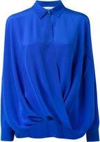Moschino draped shirt - women - Silk - 36
