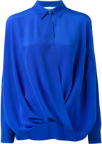Moschino draped shirt - women - Silk - 38