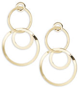 R.J. Graziano Triple Circle Drop Earrings