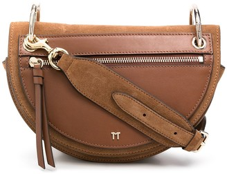 Tila March Annabelle suede crossbody bag