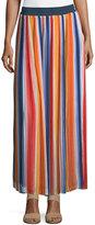 Chelsea & Theodore Pull-On Pleated Skirt