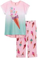Petit Lem Ice Cream Girl PJ Set (Big Girls)