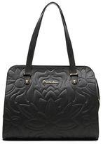 Braccialini Silvia Leather and Suede Shopper Bag