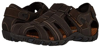 Nunn Bush Rio Bravo Fisherman Sandal (Brown) Men's Sandals