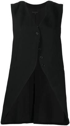 Ann Demeulemeester Asymmetric Button Vest