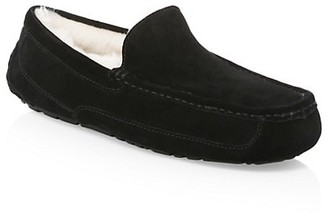 UGG Men's Ascot Suede UGGpure-Lined Slippers