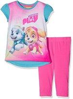 Nickelodeon Girl's Paw Patrol Puppies At Play T-Shirt and Leggings Set
