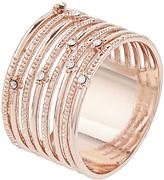 Accessorize Rose Gold Pretty Band Ring