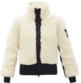 Toni Sailer Rika Wool-blend Faux-shearling Jacket - Cream