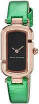 Marc Jacobs Women's The Jacobs Metallic Green Leather Watch - MJ1503