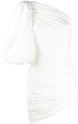 Giuseppe di Morabito Ruched Asymmetric Style Dress