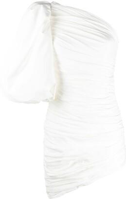 Giuseppe di Morabito Ruched Asymmetric Style Dress