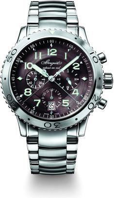 Breguet Men's 42mm Type XX1 Automatic Chronograph Watch w/ Bracelet Strap