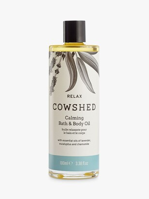 Cowshed Relax Calming Bath & Body Oil, 100ml