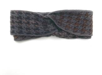 Studio Myr Hairband In Pieds-De-Poule Pattern-Raven