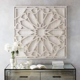 west elm Whitewashed Wood Wall Art