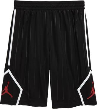 Jordan Dri-FIT Jumpman Diamond Stripe Athletic Shorts