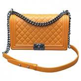 Chanel Boy leather handbag